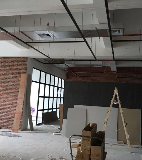 2017/08/15  OFFICE FIT OUT WORKS IN PROGRESS  The loft-style office located in Shenzhen started fit out works and will finish end next month. Click for more details. (August 2017)
